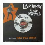 "45RE ✦ LINK WRAY ✦ ""Hang On / The Shadow Knows"" - Monster Instrumental"
